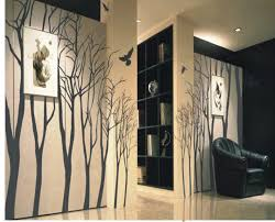 White Tree Wall Decal Nursery by Cute Tree Wall Decals For Nursery Ideas