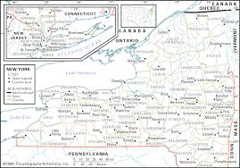 New York State County Map by New York State Maps And Map Of State Ny Evenakliyat Biz