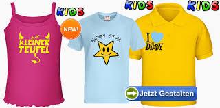 shirt selbst designen kinder t shirts selbst gestalten und individuell bedrucken lassen