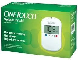 johnson u0026 johnson one touch select glucose monitor with 10 strips