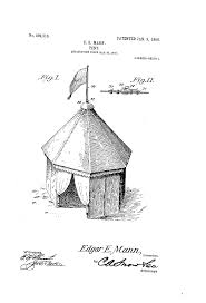 connecticut patent of the day pitch a tent connecticut invents