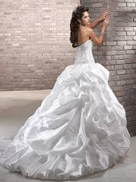 chic collection of strapless ball gown wedding dresses for