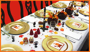 table decorations for fall dinner photograph fall table de