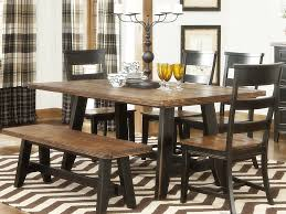 Rectangular Kitchen Table by Kitchen Chairs Country Style Kitchen Table Sets With Bench