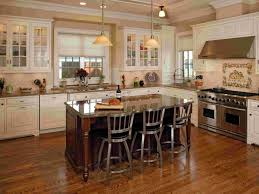 granite countertops minimalist kitchen island with brown