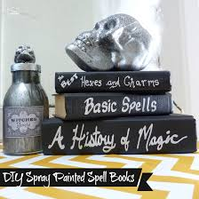 potion bottles for halloween diy spray painted halloween spell books and diy faux mercury