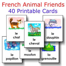 animals 40 large cards free to print fle les