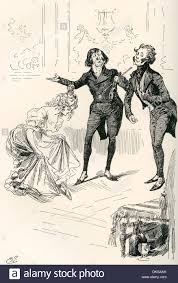 the dancing academy llustration by harry furniss for sketches by