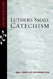 luther s small catechism anniversary study edition