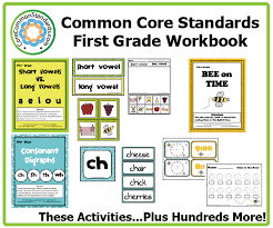 first grade common core worksheets common core standards