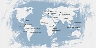 Nepal Map World by