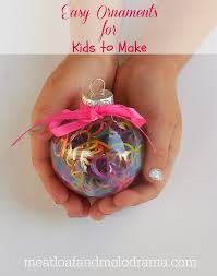 easy ornaments for to make meatloaf and melodrama