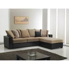 canapé d angle cuir et tissu canape d angle cuir et tissu maison design hosnya com