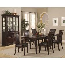 coaster furniture 101634 ramona dining buffet with hutch in walnut