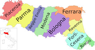 Bologna Italy Map by File Map Of Region Of Emilia Romagna Italy With Provinces It Svg