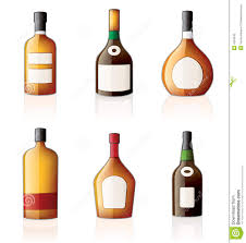 cartoon alcohol bottle bottles clipart