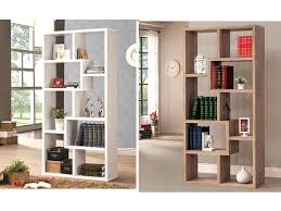Coaster Bookshelf Bookcase Contemporary Asymmetrical Cube Bookcase Quad Oblong