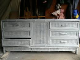 Chest Of Drawers With Wicker Drawers White Wicker Dresser How To Paint Wicker Dresser U2013 Home