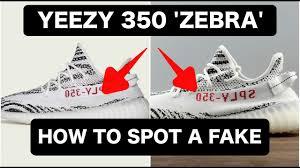 real vs fake yeezy 350 u0027zebra u0027 how to spot fake replica yeezy u0027s