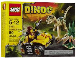 lego jurassic park jungle explorer lego dino ambush attack 5882 as the hero rides his mini off roader
