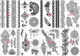 bracelet designs tattoo images 2015 new tattoo sticker designs jewelry bracelet black henna jpg