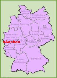 London On World Map by Aachen Location On The Germany Map