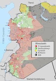 Map Of Israel And Syria by File Map Syria Hydref 2015 Cymraeg 2 Map Of Syria Oct 2015 Svg
