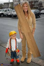 construction worker costume worker wood costume