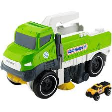 minecraft dump truck matchbox sweep n keep truck dwg67 mattel shop