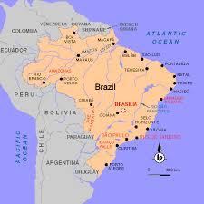 parana river map home