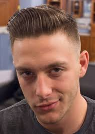 mens parted hair hairstyle for women man