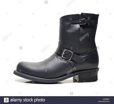 mens brown leather biker boots biker boots stock photos u0026 biker boots stock images alamy