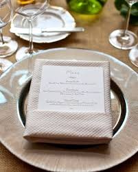 pliage serviette menu decoration serviettes