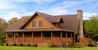 log homes with wrap around porches nestled amongst the trees or perched upon a mountain side this
