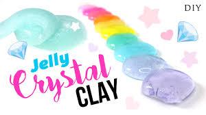 diy jelly clear slime tutorial instagram inspired diy slime