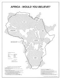Blank Map Of Africa by Maps Cultural Awareness Educational Maps Peters Maps Hobo Dyer