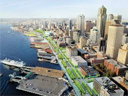 seattle waterfront transformation prepares to break ground this