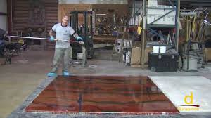 how install designer epoxy flooring system part youtube