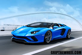 2017 lamborghini aventador convertible the 2018 lamborghini aventador s roadster gets rendered