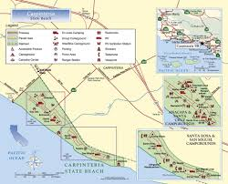 Route 66 Google Map by Carpinteria State Beach Maplets