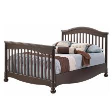 Convertible Crib Twin Bed by Natart Avalon 4 In 1 Convertible Crib In Walnut Free Shipping