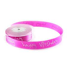 happy birthday ribbon magenta pink birthday cake ribbon pink happy birthday message