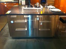 stainless steel kitchen islands ikea stainless steel kitchen island this is a great indust flickr