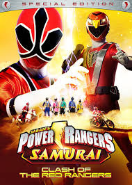 u0027power rangers samurai clash red rangers u0027