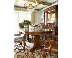 double pedestal table thomasville furniture