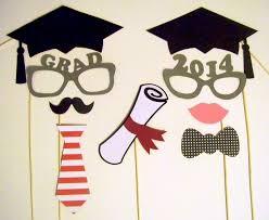 graduation caps for sale graduation photo booth props sale 9pc graduation by pimpyourparty
