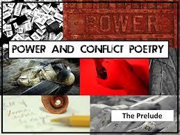 gcse power and conflict poetry comparison structure question