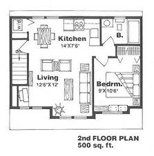 floor plans for homes farmhouse style house plan 1 beds 1 baths 500 sq ft plan 116