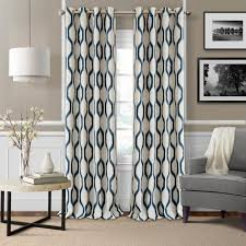 Navy Patterned Curtains Curtain Navy Blue Patternains Patternedainsnavyain 91 Awesome