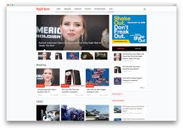 newspaper theme html5 20 best wordpress newspaper themes for news sites 2018 colorlib